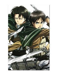 Ímã Decorativo Attack on Titan - Shingeki no Kyojin - IANSK011