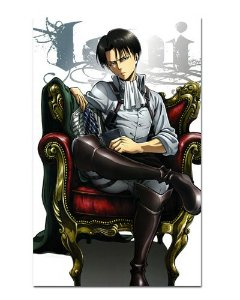 Ímã Decorativo Levi Attack on Titan - Shingeki no Kyojin - IANSK015