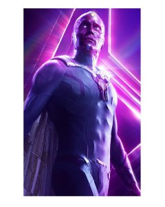 Ímã Decorativo Vision - Avengers Infinity War - IMAVI20