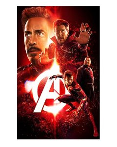 Ímã Decorativo Avengers Infinity War - IMAVI25