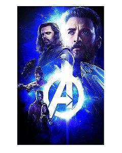 Ímã Decorativo Avengers Infinity War - IMAVI26