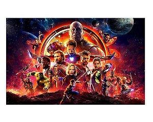 Ímã Decorativo Avengers Infinity War - IMAVI31