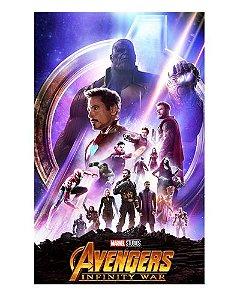 Ímã Decorativo Avengers Infinity War - IMAVI32