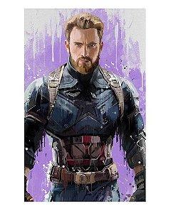 Ímã Decorativo Capitão América - Vingadores Guerra Infinita - IMAVI38