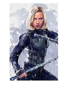 Ímã Decorativo Black Widow - Vingadores Guerra Infinita - IMAVI39