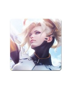 Ímã Decorativo Mercy - Overwatch - IMOV02