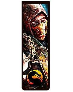 Marcador De Página Magnético Scorpion - Mortal Kombat - MMK04