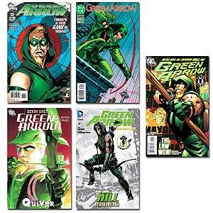 Ímãs Decorativos Capas de Quadrinhos - Arqueiro Verde - Pack 10 unid