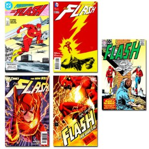 Ímãs Decorativos Capas de Quadrinhos - The Flash - Pack 10 unid