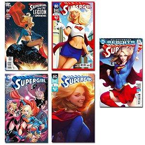 Ímãs Decorativos Capas de Quadrinhos - Supergirl - Pack 10 unid