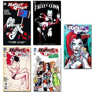 Ímãs Decorativos Capas de Quadrinhos - Harley Quinn - Pack 10 unid