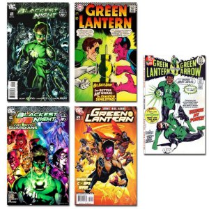 Ímãs Decorativos Capas de Quadrinhos - Lanterna Verde - Pack 10 unid