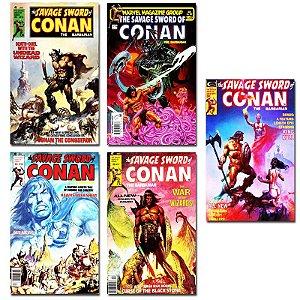 Ímãs Decorativos Capas de Quadrinhos - Conan - Pack 10 unid