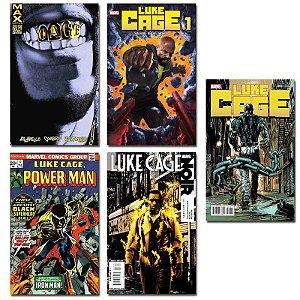 Ímãs Decorativos Capas de Quadrinhos - Luke Cage - Pack 10 unid