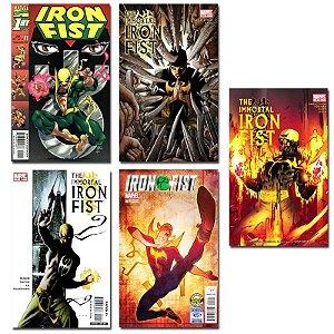 Ímãs Decorativos Capas de Quadrinhos - Punho de Ferro - Pack 10 unid