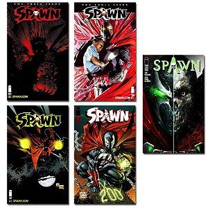 Ímãs Decorativos Capas de Quadrinhos - Spawn - Pack 10 unid
