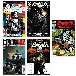 Ímãs Decorativos Capas de Quadrinhos - Justiceiro - Pack 10 unid