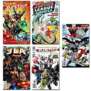 Ímãs Decorativos Capas de Quadrinhos - Liga da Justiça - Pack 10 unid