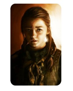 Ímã Decorativo Arya Stark - Game of Thrones - IGOT04