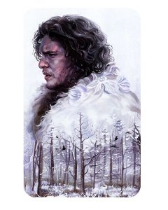 Ímã Decorativo Jon Snow - Game of Thrones - IGOT05