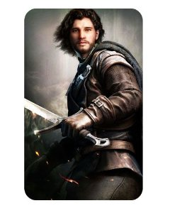 Ímã Decorativo Jon Snow - Game of Thrones - IGOT07