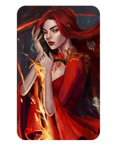 Ímã Decorativo Melisandre - Game of Thrones - IGOT11