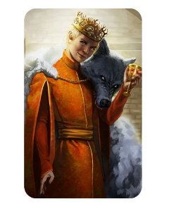 Ímã Decorativo Joffrey - Game of Thrones - IGOT12
