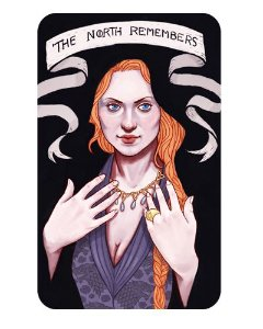 Ímã Decorativo Sansa - Game of Thrones - IGOT14