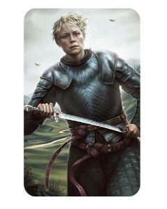 Ímã Decorativo Brienne - Game of Thrones - IGOT18