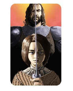 Ímã Decorativo Arya e The Hound - Game of Thrones - IGOT19