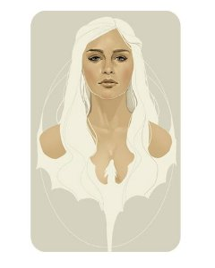 Ímã Decorativo Daenerys - Game of Thrones - IGOT23