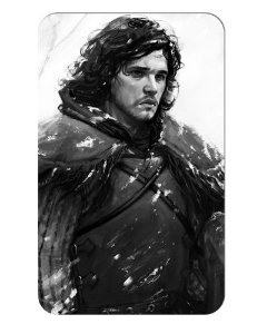 Ímã Decorativo Jon Snow - Game of Thrones - IGOT28