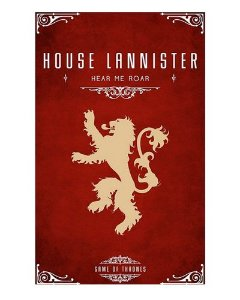 Ímã Decorativo House Lannister - Game of Thrones - IGOT39