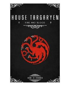 Ímã Decorativo House Targaryen - Game of Thrones - IGOT40