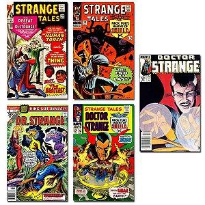Ímãs Decorativos Capas de Quadrinhos - Doutor Estranho - Pack 10 unid