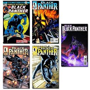 Ímãs Decorativos Capas de Quadrinhos - Pantera Negra - Pack 10 unid