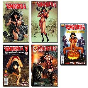 Ímãs Decorativos Capas de Quadrinhos - Vampirella - Pack 10 unid