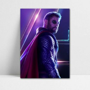 Poster A4 Avengers Infinity War - Thor