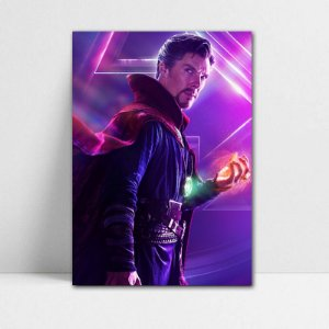 Poster A4 Avengers Infinity War - Doctor Strange