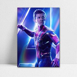 Poster A4 Avengers Infinity War - Spider-Man