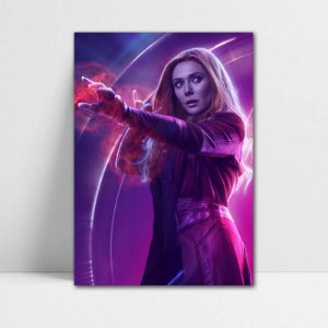 Poster A4 Avengers Infinity War - Scarlet Witch
