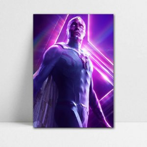 Poster A4 Avengers Infinity War - Vision