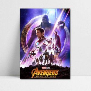 Poster A4 Avengers Infinity War - PAVI11