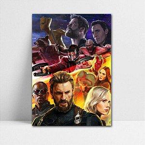 Poster A4 Avengers Infinity War - PAVI13