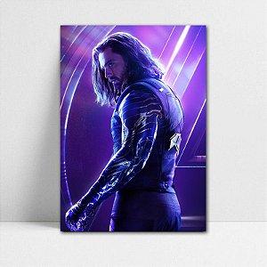 Poster A4 Avengers Infinity War - Winter Soldier