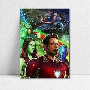 Poster A4 Avengers Infinity War - PAVI17