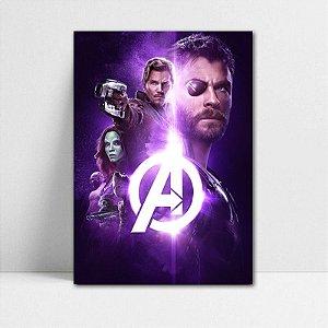 Poster A4 Avengers Infinity War - PAVI18