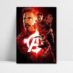 Poster A4 Avengers Infinity War - PAVI20