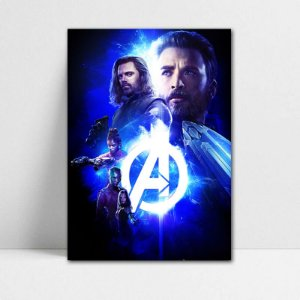 Poster A4 Avengers Infinity War - PAVI22