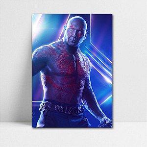 Poster A4 Avengers Infinity War - Drax